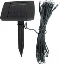 Гирлянда садовая на солнечной батарее Feron, 25 цветных светодиодов, цвет шнура черный, PL265