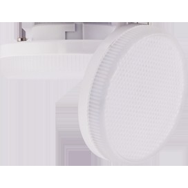 Лампа Ecola Light GX53 LED  6,0W Tablet 220V 41000K 27x75 матовое стекло 30000h