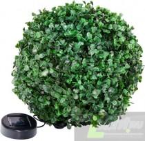 """Садовая фигура на солнечной батарее Feron """"Самшит"""", 24 белый LED, D 270мм , E5208."""
