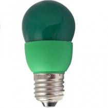 Цветная лампа Ecola globe Color 9W 220V E27 Green Зеленый 91x46