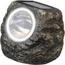 Светильник газонный Feron на солнечной батарее 2 белых светодиода камень малый E5220