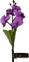 """Светильник садово-парковый на солнечной батарее Feron """"Фиолетовая орхидея"""", 4 LED, белый, 70 см, PL301"""