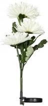 """Цветы на солнечной батарее Feron """"Астра"""" 3шт,цвет белый,PL304"""