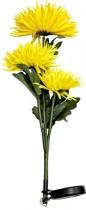"""Цветы на солнечной батарее Feron """"Астра"""" 3шт.""""цвет желтый,PL304"""