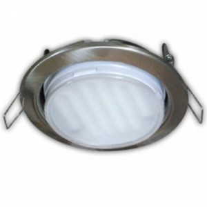Светильник Ecola GX53 H4 Downlight without reflector_satin chrome () 38х106 - 2pack Светильник Ecola GX53 H4 Downlight without reflector_satin chrome () 38х106 - 2pack