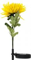 """Цветы на солнечной батарее Feron """"Хризантема"""",цвет желтый,PL305"""
