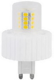 Лампа Ecola G9  LED  7,5W Corn Mini 220V 2800K 300° (керамика) 61x40 Лампа Ecola G9  LED  7,5W Corn Mini 220V 2800K 300° (керамика) 61x40