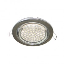 Светильник Ecola GX53 H4 Downlight without reflector_chrome () 38х106