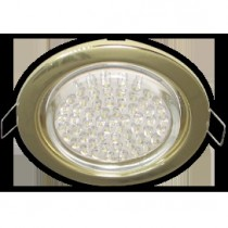 Светильник Ecola GX53 H4 Downlight without reflector_gold () 38х106