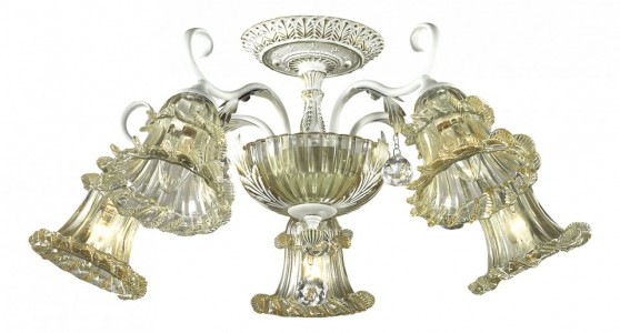 Люстра на штанге Salmora 2894/5C Odeon Light Люстра на штанге Salmora 2894/5C Odeon Light