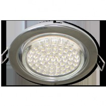 Светильник Ecola GX53 H4 Downlight without reflector_chrome () 38x106 - 10 pack