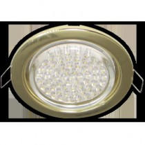 Светильник Ecola GX53 H4 Downlight without reflector_gold () 38x106 - 10 pack