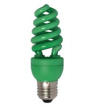 Цветная лампа Ecola Spiral Color 20W 220V E27 Green Зеленый 148x60