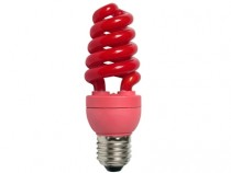Цветная лампа Ecola Spiral Color 20W 220V E27 Red Красный 148x60