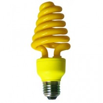 Цветная лампа Ecola Spiral Color 20W 220V E27 Yellow Желтый 148x60