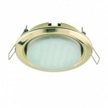 Светильник Ecola GX53 H4 Downlight without reflector_gold () 38x106 - 2pack