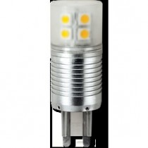 Лампа Ecola G9  LED  4,1W Corn Mini 220V 4200K 300° (алюм. радиатор) 65x23